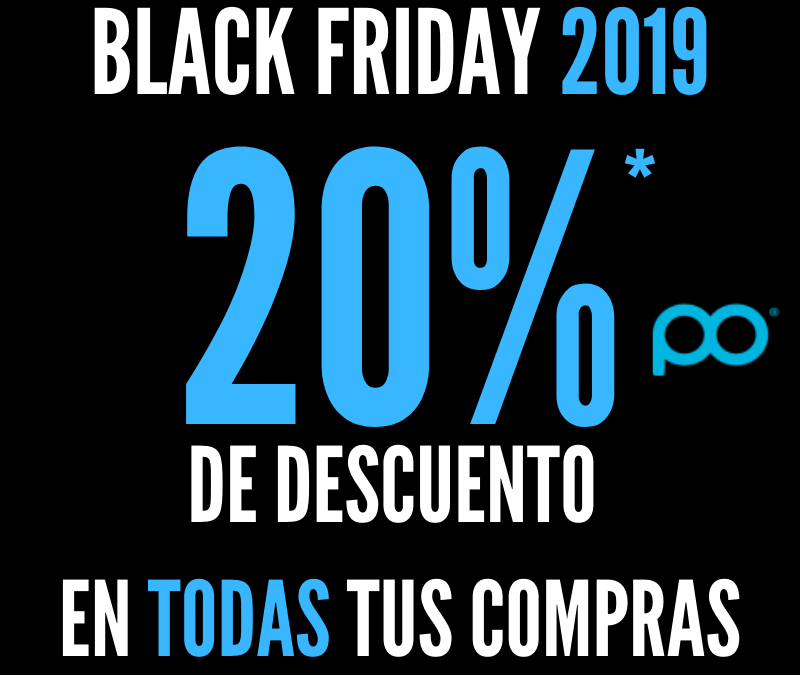 Black friday 2019 - 20%